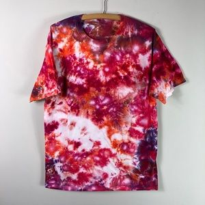 Tops - NEW Tie Dye Hand Dyed Colorful Tee Shirt 578
